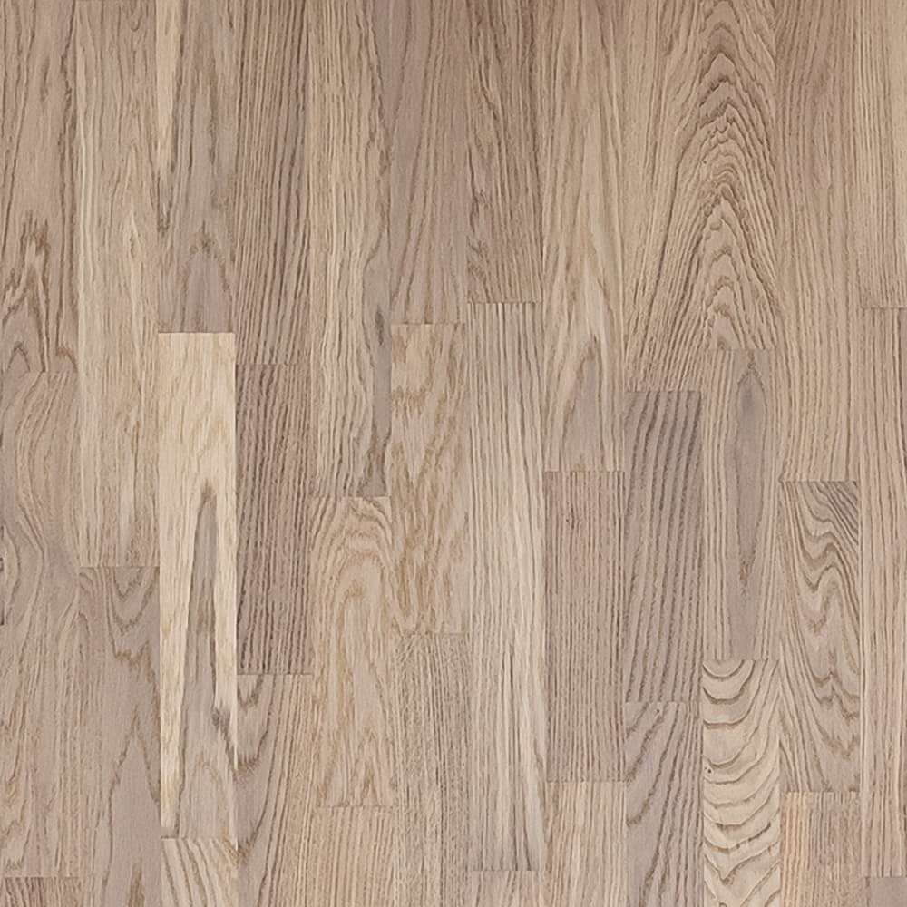 Паркетная доска PolarWood Дуб Living White Mat 3-х пол. (3,41м2)